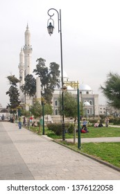 HOMS, SYRIA - JANUARY 2009: The Khalid Al-Walid mosque in Homs