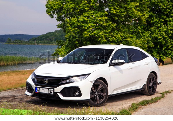 Honda Civic Line Cars Manufactured By Stock Photo Edit Now 1130254328