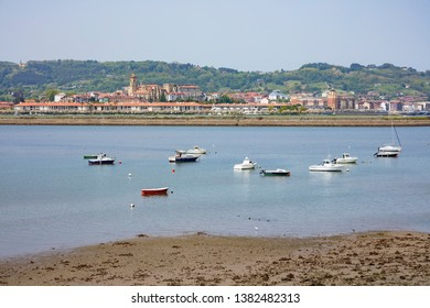 Hondarribia is a beautiful town in Guipuzcoa province, Basque Country, Spain.