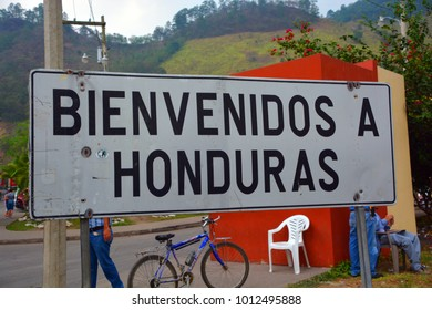 HONDURAS BORDER 05 05 2016 : Honduras border crossing is possible from the three different countries along its land territory
