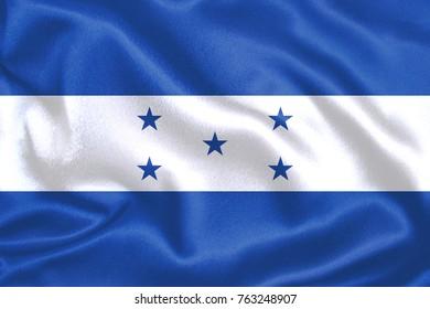 honduras Fabric Flag