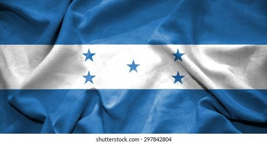 Honduras flag. illustration