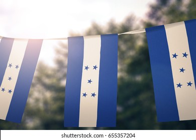 Honduras flag pennants