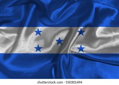Honduras national flag illustration symbol.