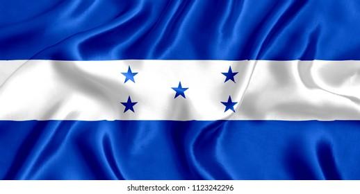 Honduras silk flag
