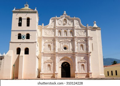 Honduras, View on the colonial Cathedral of Comayagua in Comayagua city in In Middle America