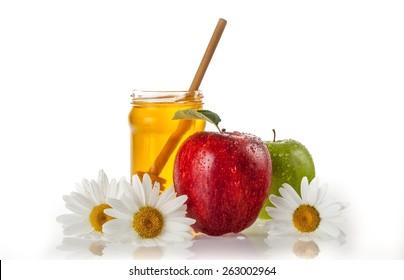 Honey, Apple, Fruit.