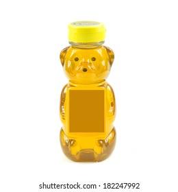 honey in bear bottle