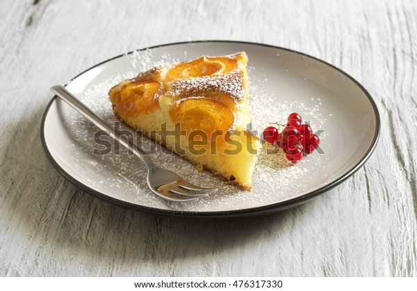Honey cake with apricots, apricot pie