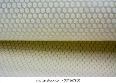 Honey comb lantor soric composite material background
