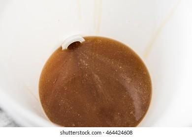 Honey extracting: golden honey flow