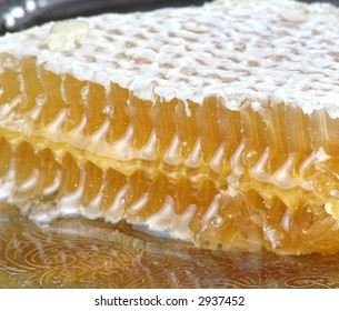 honey in honeycomb