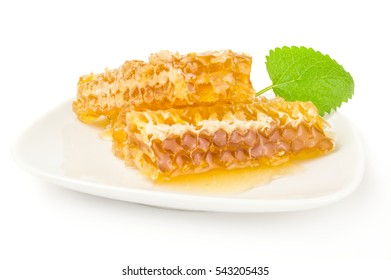 Honey isolated on a white background cutout