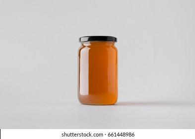 Honey Jar Mock-Up