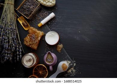 Honey and Lavender based natural handmade cosmetics