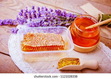 honey and lavender bouquet