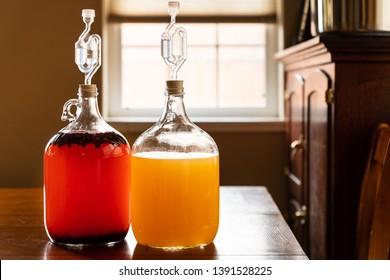 Honey Mead and Huckleberry Mead Montana