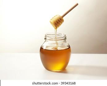 honey on a stick