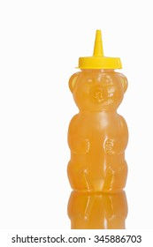 Honey in a plastic bear like bottle