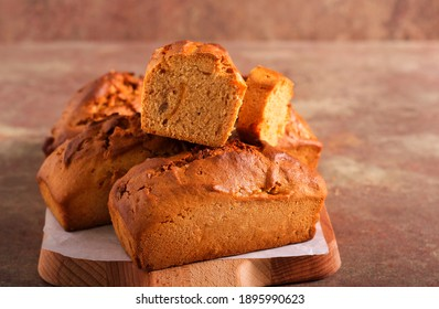 Honey spicy rye mini loaves with candied orange