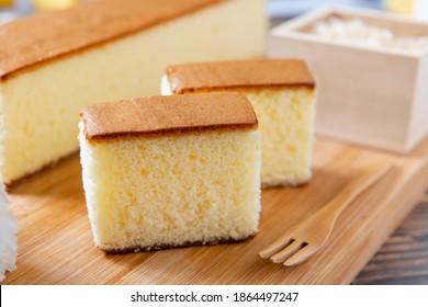 Honey Sponge Cake,  japanese sweets, honey castella cake,  (Japanese sponge cake)