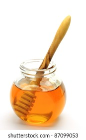 honey and honey spoon
