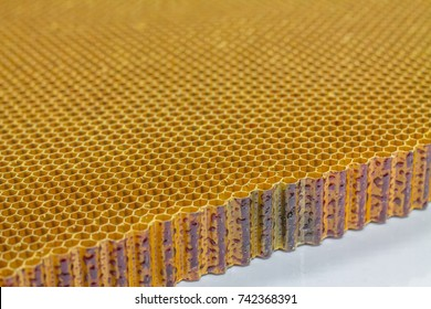 Honeycomb composite panels for repair station aircraft.