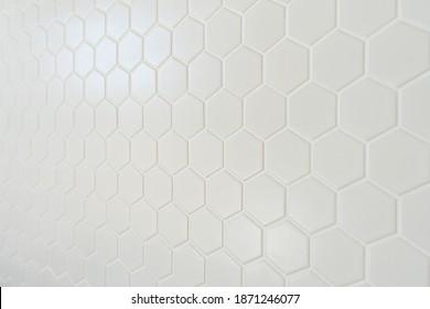 Honeycomb Kitchen Splashback Tile in Australia New Build Kitchen