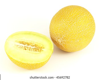 Honeydew melons.