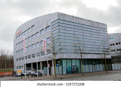 Honeywell Building At The Stationsplein Street At Schiphol Amsterdam The Netherlands 2019