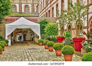 Honfleur, France - august 18 2016 : the Eugene Boudin museum