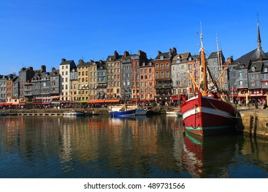 Honfleur,  the French  Norman town