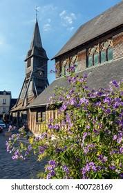 Honfleur, Normandy; the historical wooden Church