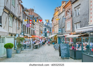 Honfleur in a spring afternoon, Normandy, May-03-2016