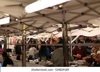 HONG KONG - 10 DEC: Stanley Plaza Enchanted Christmas Market in Stanley, Hong Kong on 10 December 2016