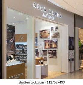 HONG KONG - 4 July, 2018: Acca Kappa store in Hong Kong.