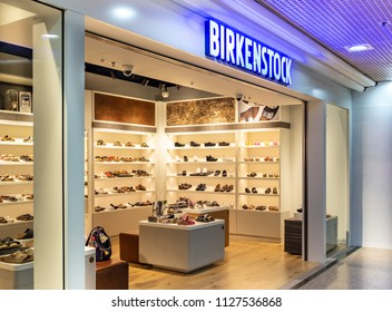 HONG KONG - 4 July, 2018: Birkenstock store in Hong Kong.
