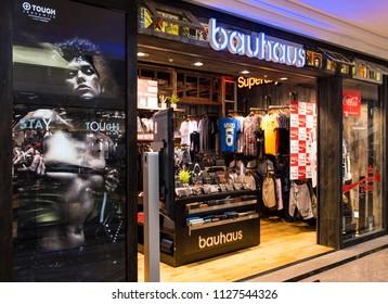 HONG KONG - 4 July, 2018: Bauhaus store in Hong Kong.