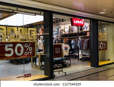 HONG KONG - 4 July, 2018: Levi's store in Hong Kong.