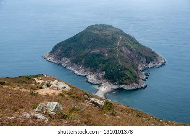 Hong Kong Ap Lei Pai from Yuk Kwai Shan (Mount Johnson)