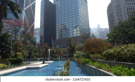 Hong Kong Central And Chater Garden