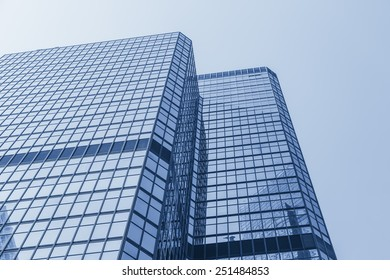 Hong Kong central district architecture background