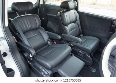Hong Kong, China April 4, 2018 : Honda Odyssey 2018 Middle Seat April 4 2018 in Hong Kong.