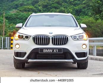 Hong Kong, China Dec 18, 2015 : BMW X1 2015 Test Drive Day on Dec 18 2015 in Hong Kong.