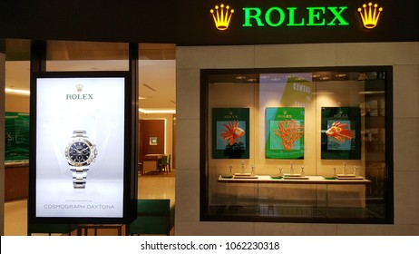 66a7933dff1 Similar Images, Stock Photos & Vectors of OSAKA - DEC 12: Rolex shop ...