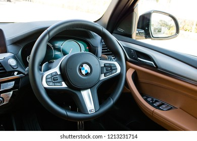 Hong Kong, China Jan 11, 2018 : BMW X3 M40i 2018 Wheel Jan 11 2018 in Hong Kong.