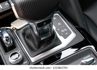 Hong Kong, China July 3, 2018 : Audi R8 2018 Gear Box July 3 2018 in Hong Kong.