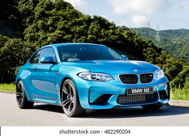 Hong Kong, China June 27, 2016 : BMW M2 2016 Test Drive Day on June 27 2016 in Hong Kong.