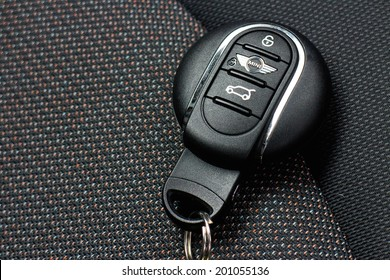 Hong Kong, China June 5, 2014 : Mini Cooper wirless car key on June 5 2014 in Hong Kong.