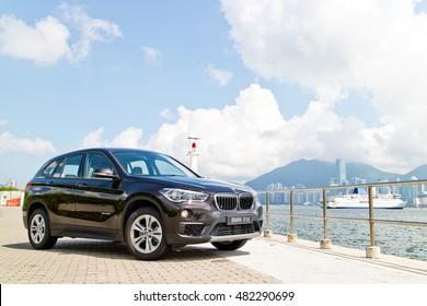 Hong Kong, China May 31, 2016 : BMW X1d 2016 Test Drive Day on May 31 2016 in Hong Kong.